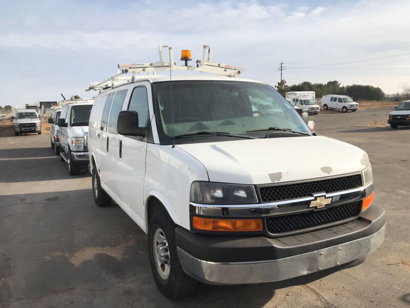 2011 Chevrolet Express Cargo for sale at CARGO VAN GO.COM in Shakopee MN
