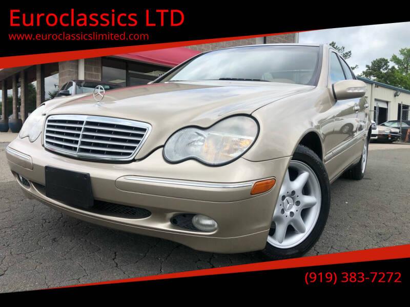2004 Mercedes-Benz C-Class for sale at Euroclassics LTD in Durham NC