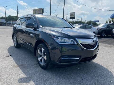 2016 Acura MDX for sale at Marvin Motors in Kissimmee FL