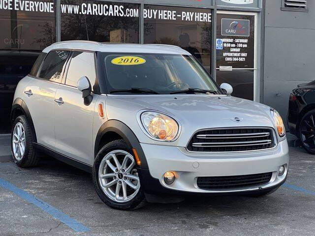 2016 MINI Countryman for sale at CARUCARS LLC in Miami FL