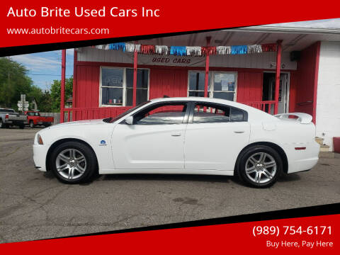 2011 Dodge Charger for sale at Auto Brite Used Cars Inc in Saginaw MI