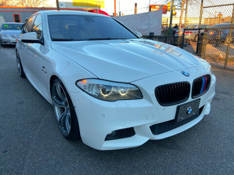 2012 BMW 5 Series for sale at TOP SHELF AUTOMOTIVE in Newark NJ