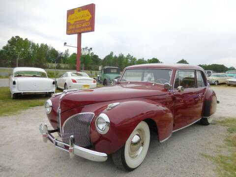 1941 Lincoln Continental for sale at Classic Cars of South Carolina in Gray Court SC