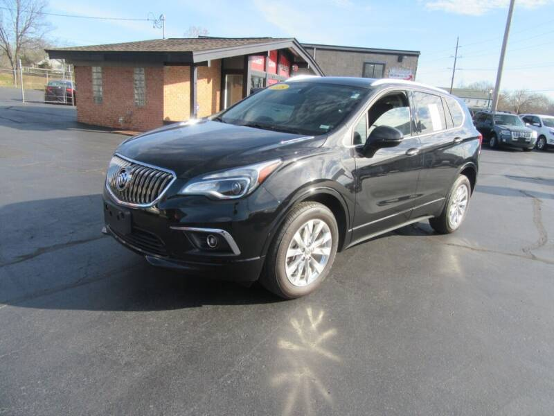 2018 Buick Envision for sale at Riverside Motor Company in Fenton MO