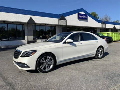 2020 Mercedes-Benz S-Class for sale at Impex Auto Sales in Greensboro NC