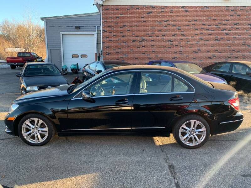 2013 Mercedes-Benz C-Class for sale at BAY CITY MOTORS in Portland ME