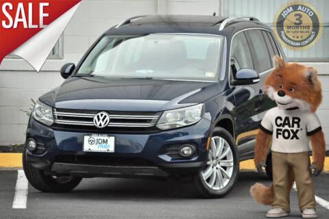2012 Volkswagen Tiguan for sale at JDM Auto in Fredericksburg VA