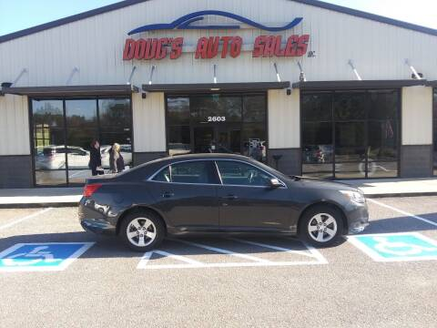 2015 Chevrolet Malibu for sale at DOUG'S AUTO SALES INC in Pleasant View TN