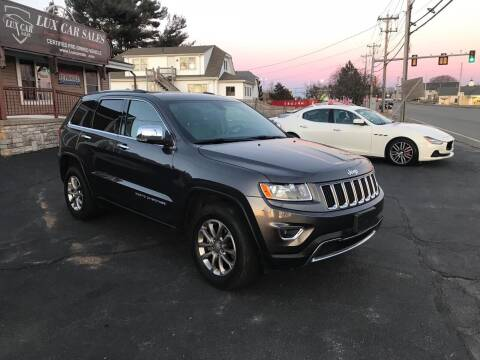 2015 Jeep Grand Cherokee for sale at Lux Car Sales in South Easton MA