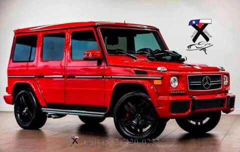 2013 Mercedes-Benz G-Class for sale at TX Auto Group in Houston TX