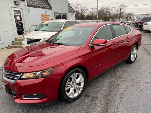 2015 Chevrolet Impala for sale at Huggins Auto Sales in Ottawa OH