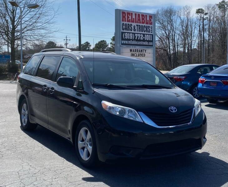 2010 Toyota Sienna for sale at Reliable Cars & Trucks LLC in Raleigh NC