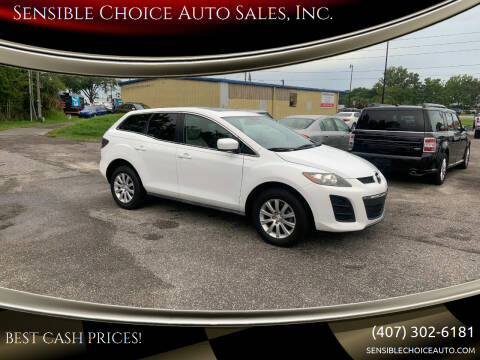 2011 Mazda CX-7 for sale at Sensible Choice Auto Sales, Inc. in Longwood FL