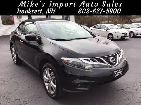 2011 Nissan Murano CrossCabriolet for sale at Mikes Import Auto Sales INC in Hooksett NH
