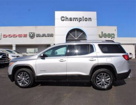 2019 GMC Acadia for sale at Champion Chevrolet in Athens AL
