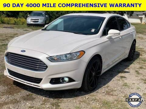 2013 Ford Fusion for sale at PHIL SMITH AUTOMOTIVE GROUP - Tallahassee Ford Lincoln in Tallahassee FL