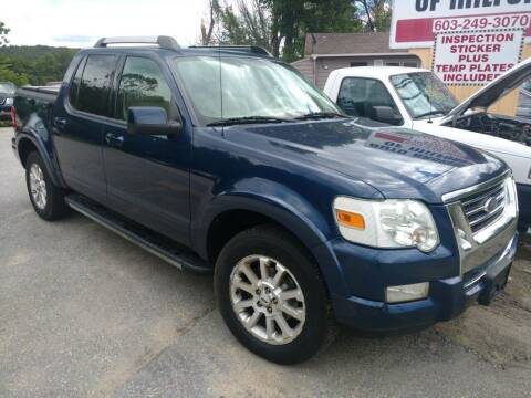 2007 Ford Explorer Sport Trac for sale at Auto Brokers of Milford in Milford NH