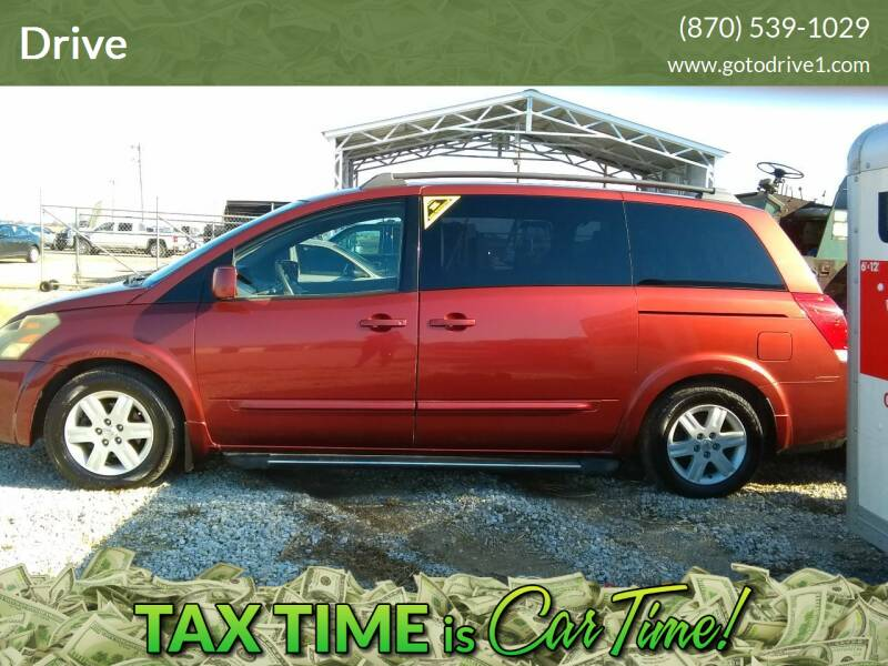 2004 Nissan Quest for sale at Drive in Leachville AR