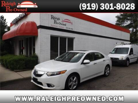 2014 Acura TSX for sale at Raleigh Pre-Owned in Raleigh NC