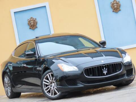 2015 Maserati Quattroporte for sale at Paradise Motor Sports LLC in Lexington KY