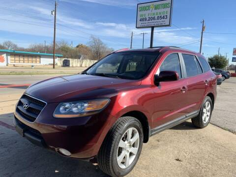 2009 Hyundai Santa Fe for sale at Shock Motors in Garland TX