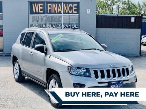 2017 Jeep Compass for sale at Stanley Direct Auto in Mesquite TX