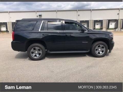 2018 Chevrolet Tahoe for sale at Sam Leman CDJRF Morton in Morton IL