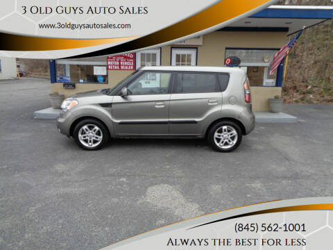 2010 Kia Soul for sale at 3 Old Guys Auto Sales in Newburgh NY