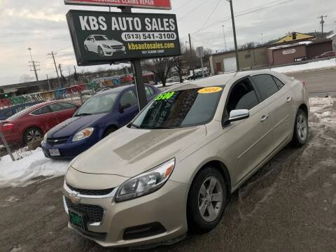 2014 Chevrolet Malibu for sale at KBS Auto Sales in Cincinnati OH