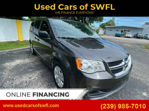 2018 Dodge Grand Caravan for sale at Used Cars of SWFL in Fort Myers FL