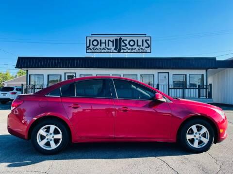 2012 Chevrolet Cruze for sale at John Solis Automotive Village in Idaho Falls ID