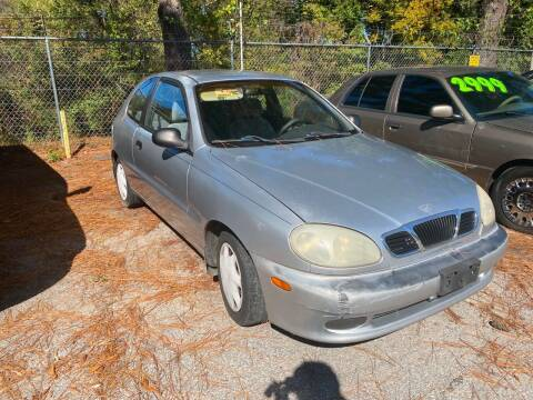2000 Daewoo Lanos for sale at Super Wheels-N-Deals in Memphis TN