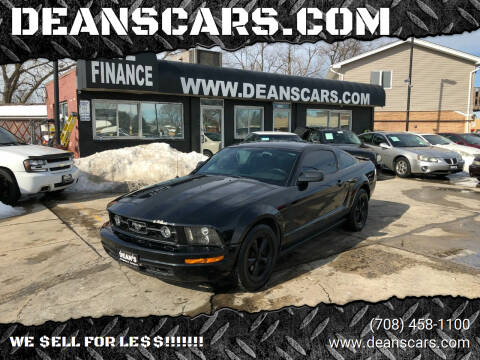 2008 Ford Mustang for sale at DEANSCARS.COM in Bridgeview IL