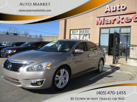 2015 Nissan Altima for sale at Auto Market in Oklahoma City OK