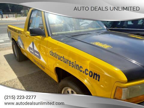 1996 Dodge Dakota for sale at AUTO DEALS UNLIMITED in Philadelphia PA