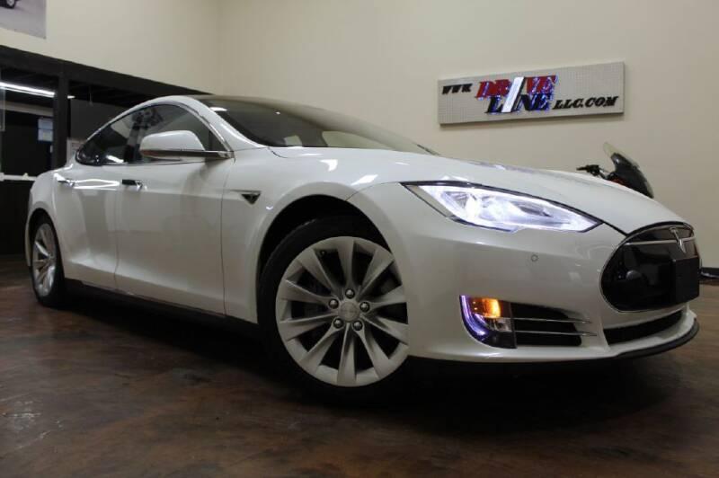 2013 Tesla Model S for sale at Driveline LLC in Jacksonville FL