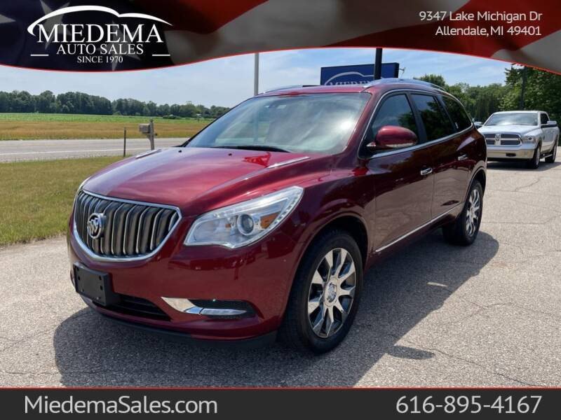 2017 Buick Enclave for sale at Miedema Auto Sales in Allendale MI