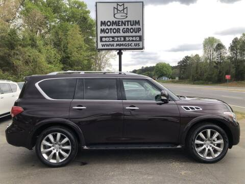 2013 Infiniti QX56 for sale at Momentum Motor Group in Lancaster SC