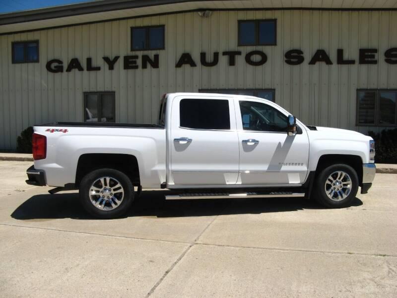 2017 Chevrolet Silverado 1500 for sale at Galyen Auto Sales Inc. in Atkinson NE