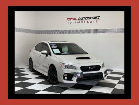 2018 Subaru WRX for sale at Royal AutoSport in Sacramento CA