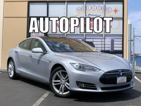 2014 Tesla Model S for sale at Las Vegas Auto Sports in Las Vegas NV