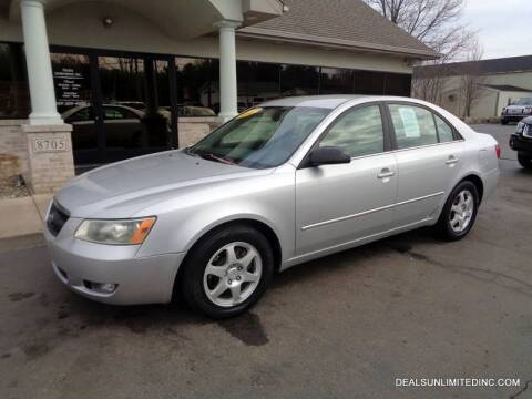 2006 Hyundai Sonata for sale at DEALS UNLIMITED INC in Portage MI