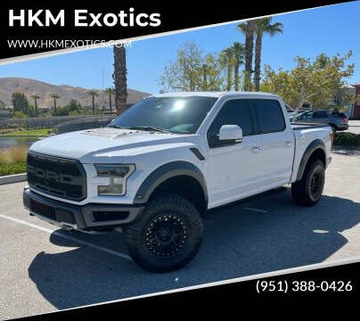 2019 Ford F-150 for sale at HKM Exotics in Corona CA