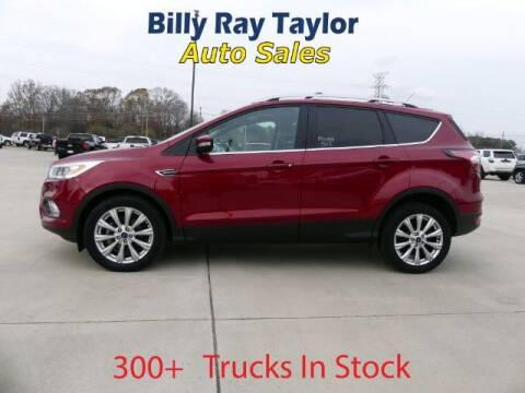 2017 Ford Escape for sale at Billy Ray Taylor Auto Sales in Cullman AL