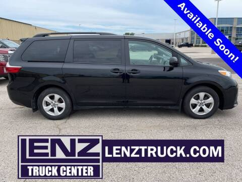 2019 Toyota Sienna for sale at LENZ TRUCK CENTER in Fond Du Lac WI