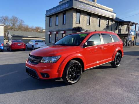 2019 Dodge Journey for sale at Sisson Pre-Owned in Uniontown PA