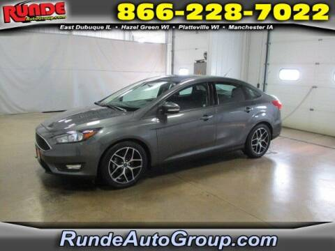 2018 Ford Focus for sale at Runde PreDriven in Hazel Green WI