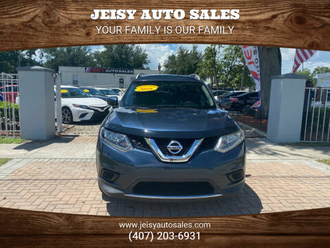 2016 Nissan Rogue for sale at JEISY AUTO SALES in Orlando FL