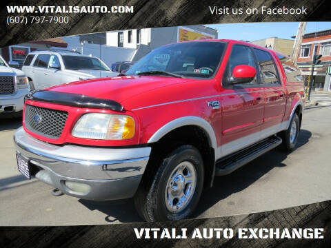 2001 Ford F-150 for sale at VITALI AUTO EXCHANGE in Johnson City NY