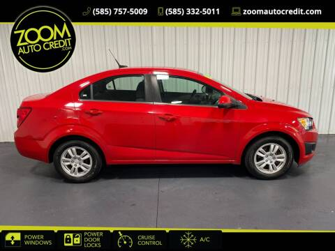 2013 Chevrolet Sonic for sale at ZoomAutoCredit.com in Elba NY